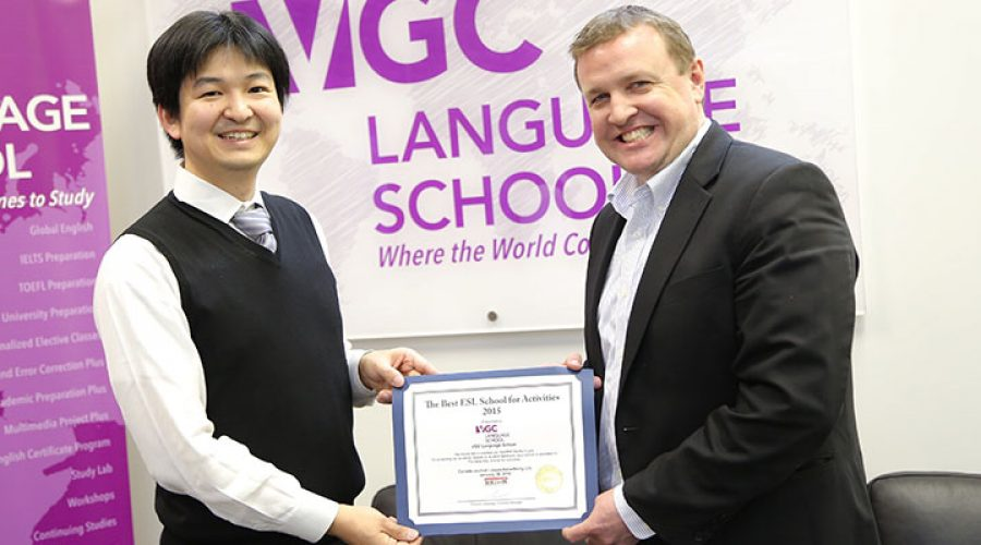 Best ESL School for Activities 2015