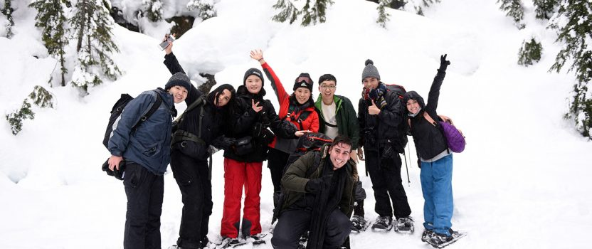 Student Story: Mariana's Experience at VGC's Snowshoeing Trip