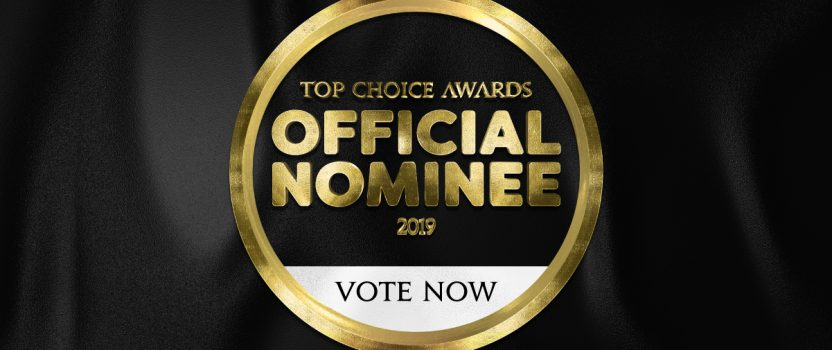 Official 2019 Top Choice Award Nominee