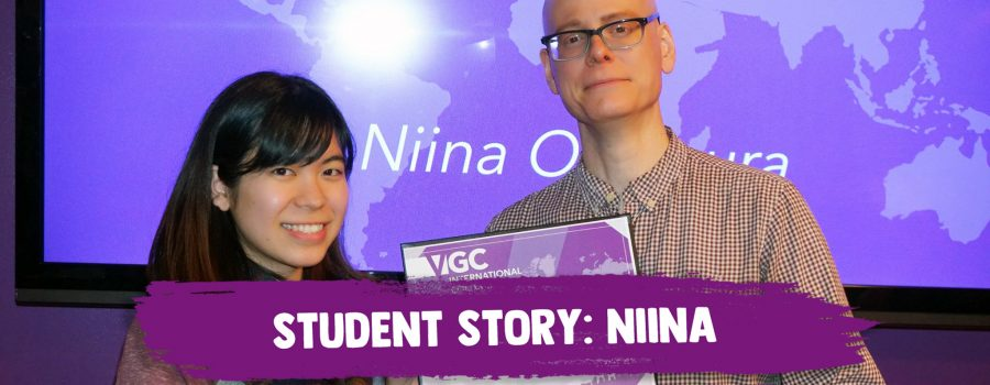 Student Story: Niina's Experience in VGC's TESL Program