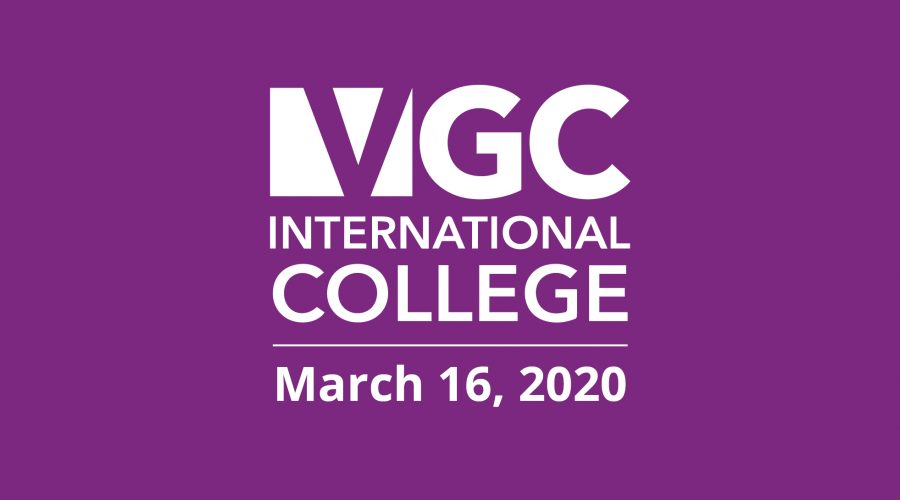 A Message from VGC's Executive Director Regarding Online Classes Starting Monday, March 23