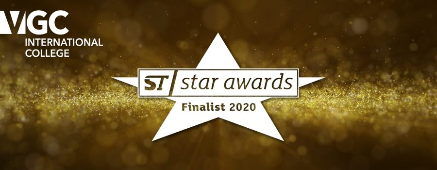 VGC is a finalist for the ST Star Awards!