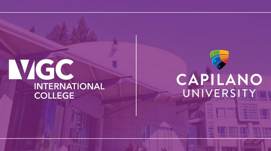 Pathway Partnership VGC International College and Capilano University