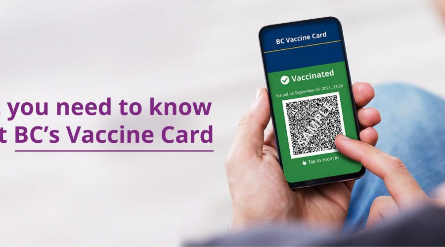 Get you BC Vaccine Card - Everything you need to know