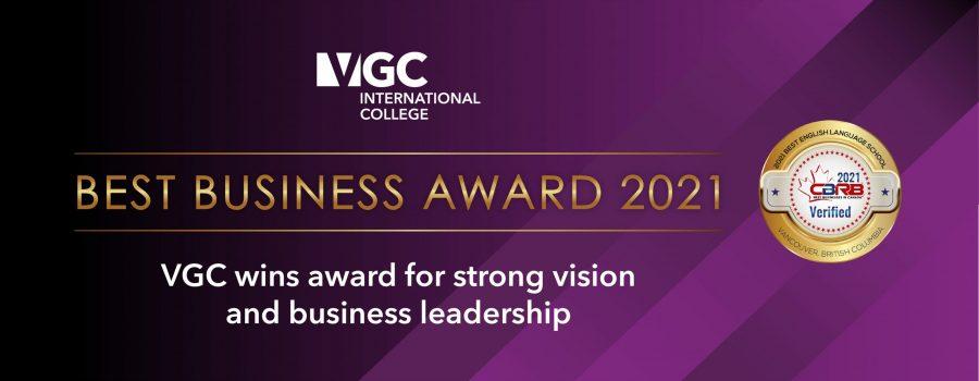 VGC wins CBRB Award