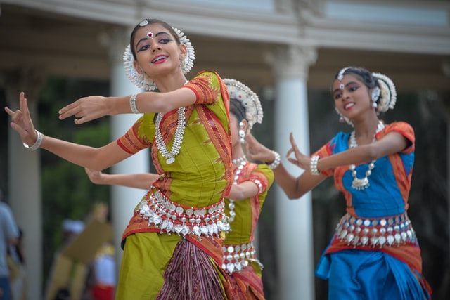 Indian Traditional Dance Image